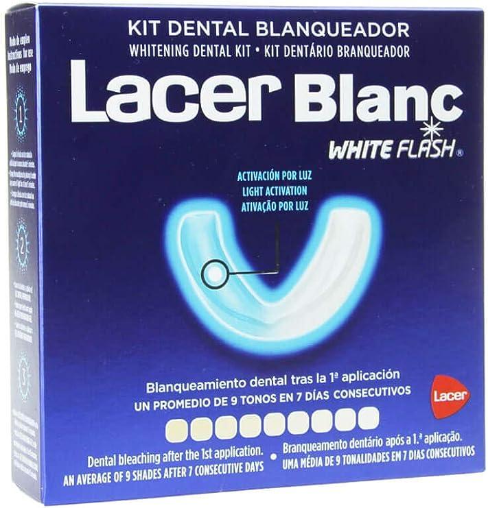 LACER - Kit Dental Blanqueador Lacerblanc White Flash: Amazon.es: Salud y cuidado personal