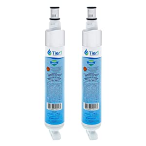 Tier1 Replacement for Whirlpool 4396701, EDR6D1, Kenmore 9915, 46-9915, NL120V, 4396701, 4396702 Refrigerator Water Filter 2 Pack