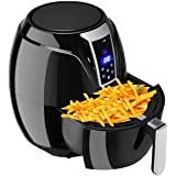 Costzon Air Fryer, 3.4Qt 1400W, Oil Free Healthy Fried Food, LCD Touch,Temperature and Time Control