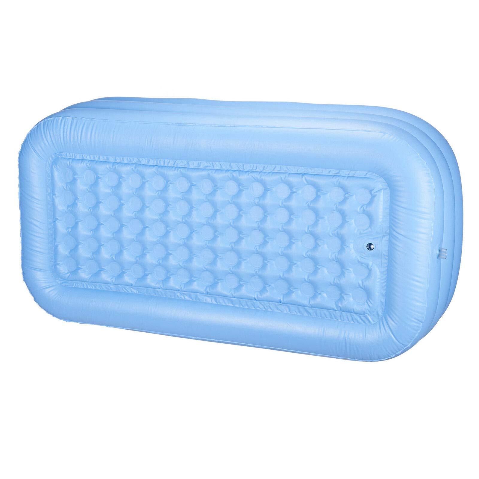 LZHQT Blow Up Adult PVC Folding Portable Foldable Bathtub Inflatable Bath Tub Air Pump by LZHQT (Image #2)