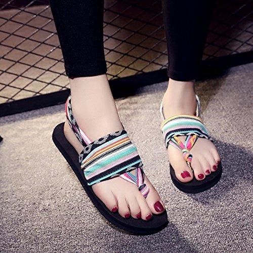 mujer Liuxinda camuflaje verano Zapatillas para de LIUXINDA XZ 8wxOBY4qxz