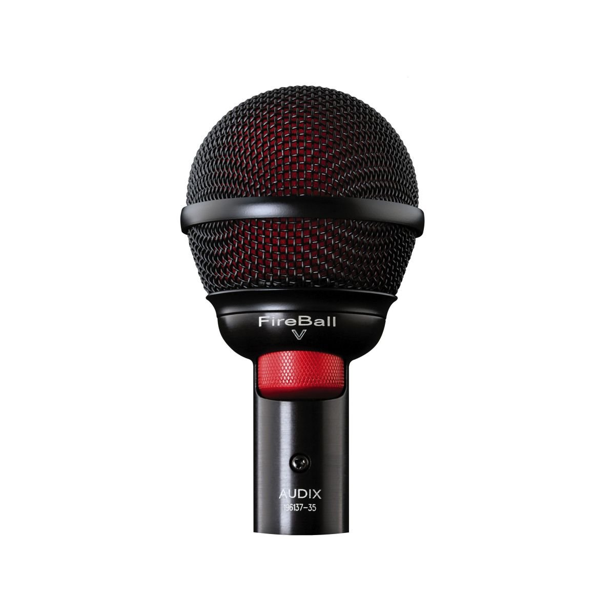 New Audix | High-Performance Professional Microphone for Harmonica and Beatbox, FIREBALL V with Cardioid Pickup Pattern and Dynamic Moving Coil Transducer