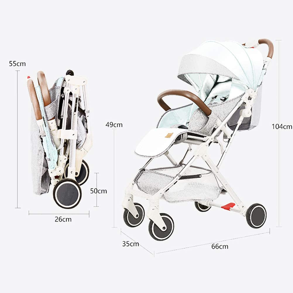 Ultraligera Compacto Cochecito de bebe, Infantil Cochecitos ...