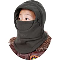 HZTG Children's Winter Windproof Thick Warm Face Cover Hat Balaclava Mask