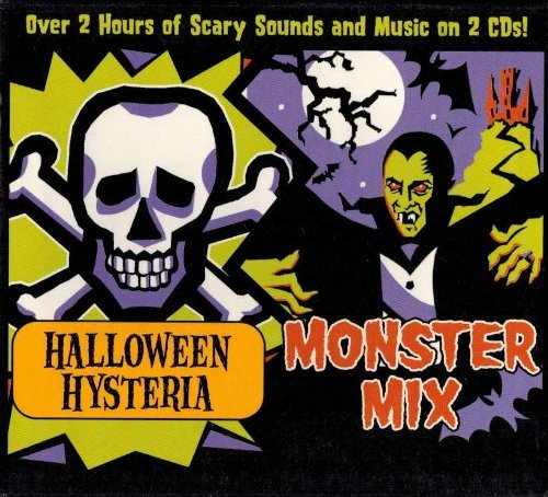 Halloween Hysteria & Monster Mix by Various Artists (2000-10-03)]()