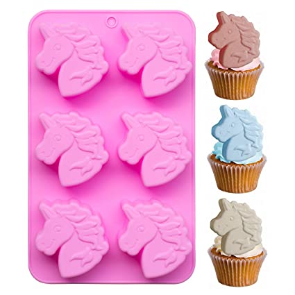 2019 New Style Unicorn Baking Silicone Mold Cake Decoration Diy Fondant 3d Silicone Mold Chocolate Mold 100% Original Home & Garden