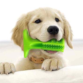 AMAES Cepillo de Dientes del Perro, Palo de Goma Suave Cepillado con Cepillo para Perros