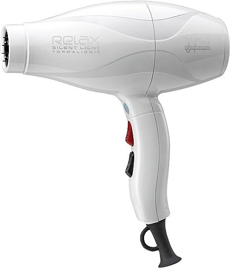 Gamma Piu Relax Silent Sèche cheveux Light, Blanc (Blanco)