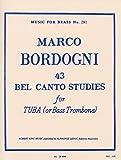 ボルドーニ: チューバのための43のベルカント練習曲/ロバート・キング社