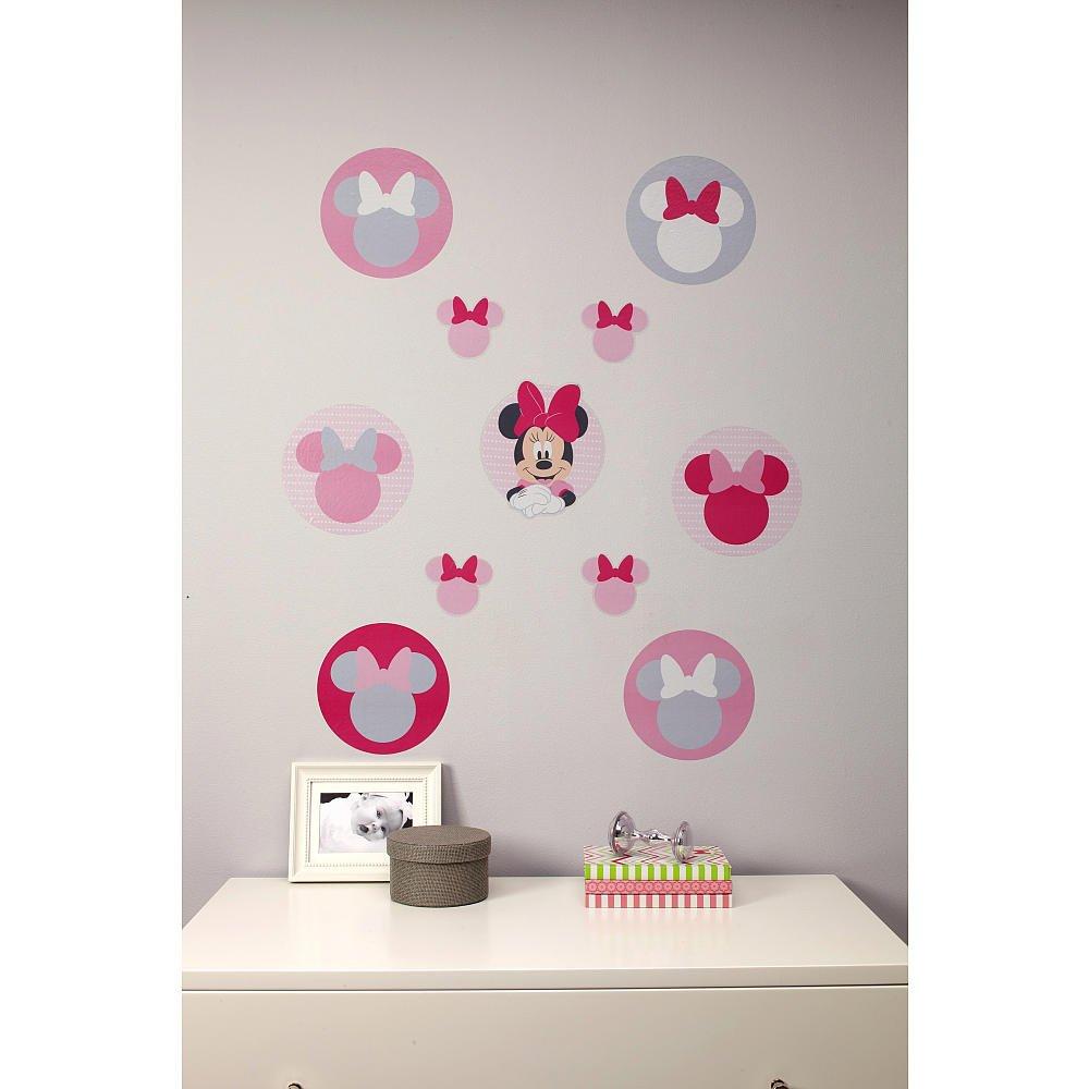 Amazon disney baby minnie mouse polkadots crib bedding wall amazon disney baby minnie mouse polkadots crib bedding wall decals baby amipublicfo Image collections