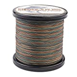 HERCULES Super Strong 1000M 1094 Yards Braided Fishing Line 30 LB Test for Saltwater Freshwater PE Braid Fish Lines 4 Strands – Camouflage, 30LB (13.6KG), 0.28MM Review