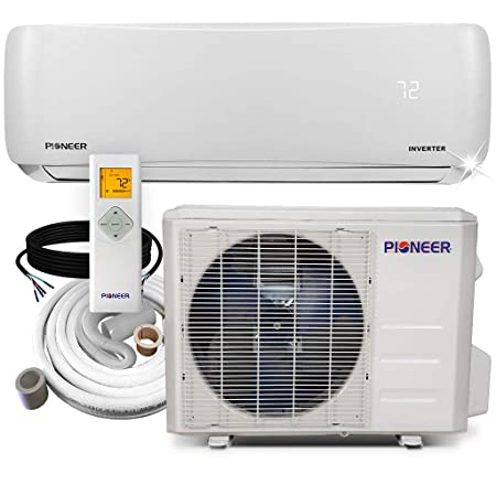 PIONEER Air Conditioner Pioneer Mini Split Heat Pump Minisplit Heatpump 12000 BTU-208 230 V
