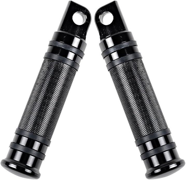 YAMAHA XT660 05-13 JBS BLACK CNC BILLET ALLOY FOOT PEG SET PAIR FOOTPEGS REST