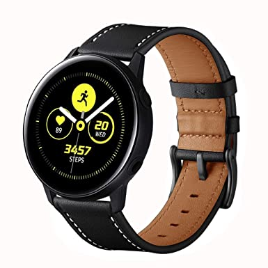 Amazon.com: LeafBoat - Correa de piel para Samsung Galaxy ...