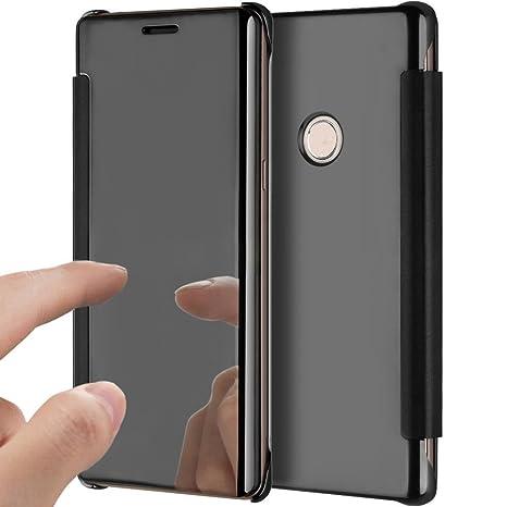 YSIMEE Funda Huawei Honor 8,Carcasa Clear View Cover Funda ...