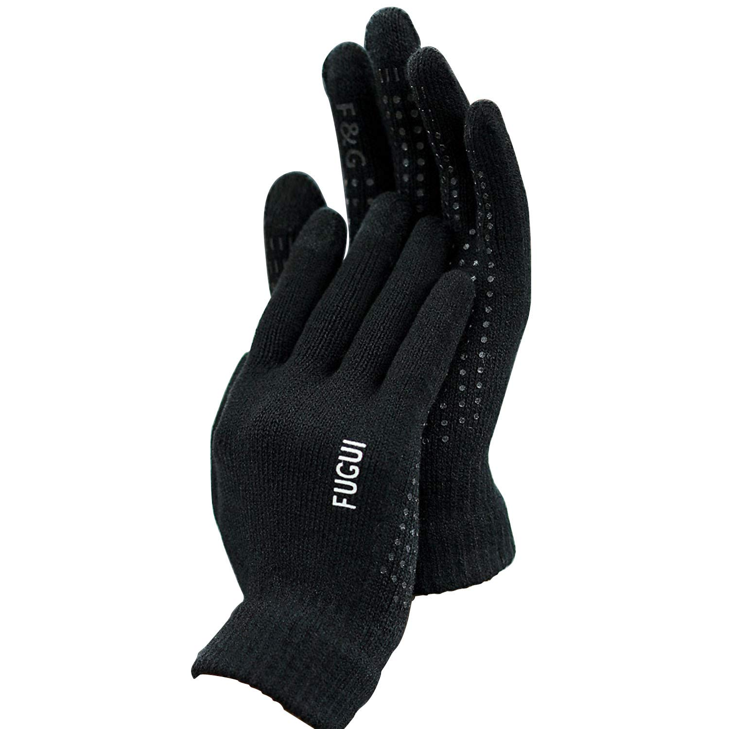 bc45be736e Amazon.com: AODRAY Copper Infused Touch Screen Gloves Anti Slip Palm For  Driving & Phone Grip: Clothing