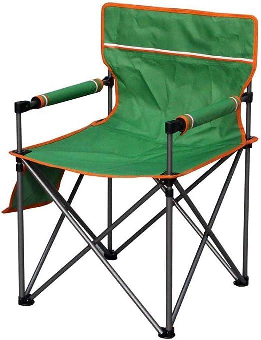 Dsrgwe Silla Camping Plegable, Sillas de mochilero Ligeras y ...
