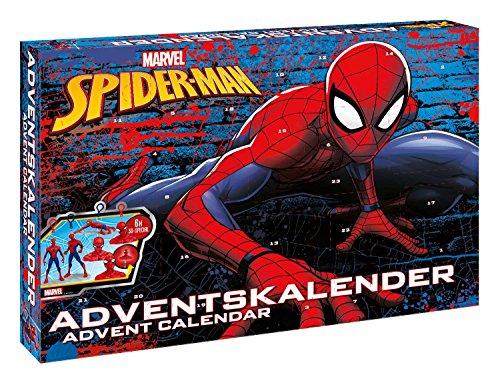 [해외]CRAZE 57484 Advent Calendar Spiderman Multi Colour / CRAZE 57484 Advent Calendar, Spiderman, Multi Colour