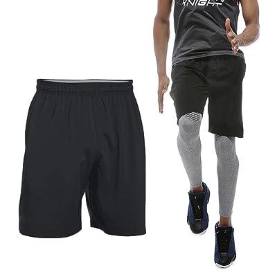 Oriental Dream Men's Running Shorts Lightweight Quick Dry Gym Sports Workout Shorts with Zippered Deep Side Pockets