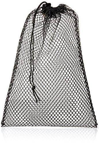 - Equinox Nylon Mesh Stuff Bag, Black, 11 x 16-Inch