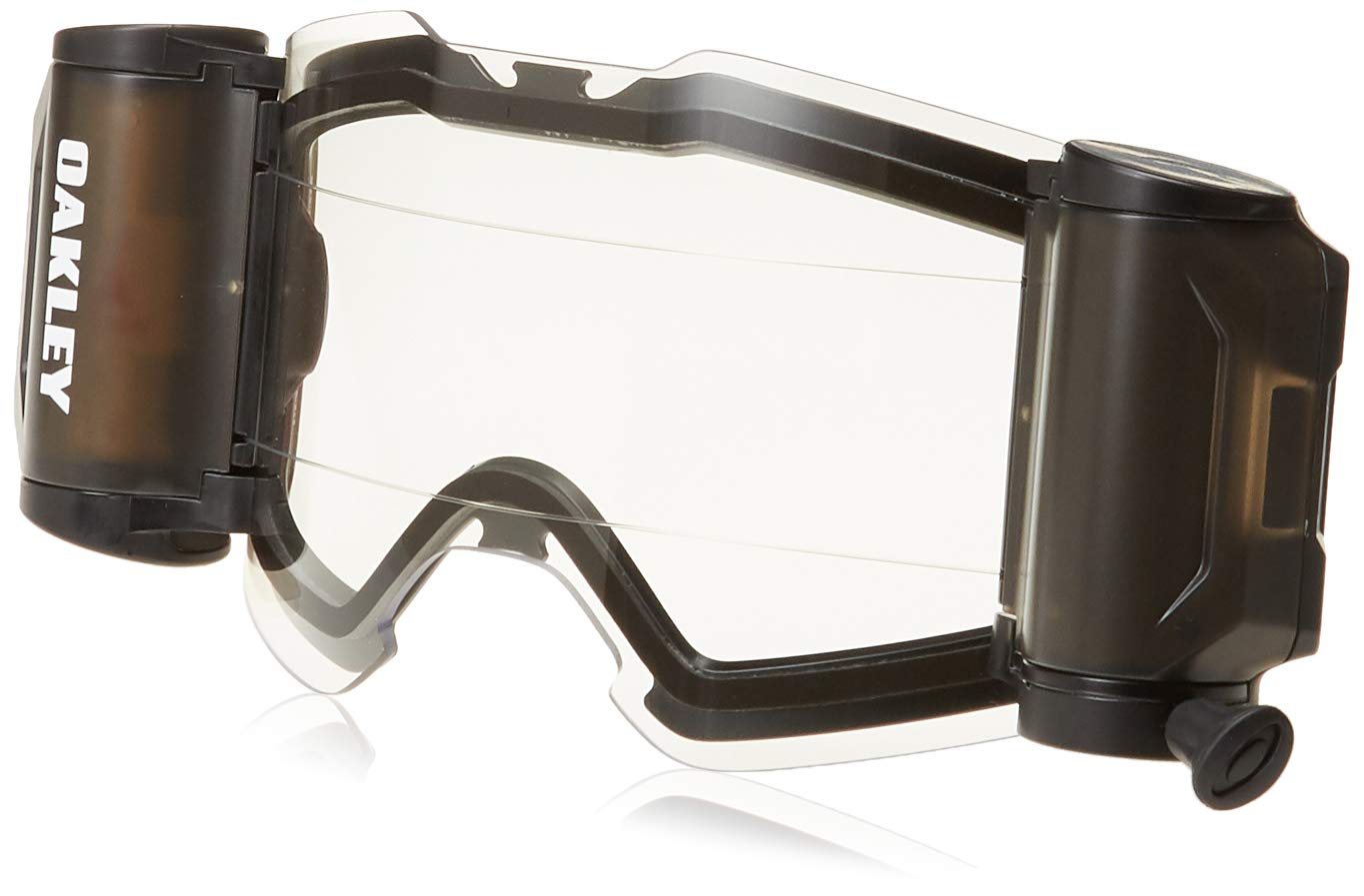 27f2bc809d Oakley 102-594-001 Front Line MX Roll-off Accessory Kit unisex-adult Goggles  (Black