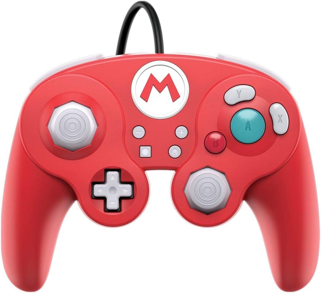 PDP - Mando Smash Pad Pro Con Cable, Mario (Nintendo Switch): Amazon.es: Videojuegos
