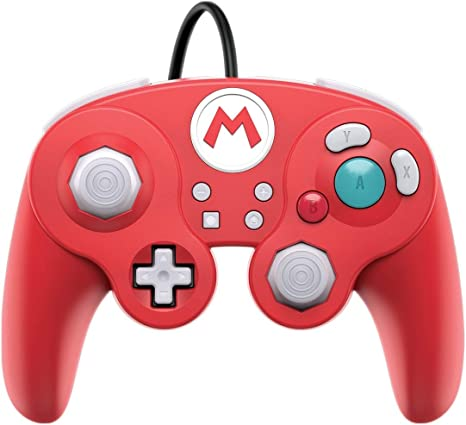 PDP - Mando Smash Pad Pro Con Cable, Mario (Nintendo Switch): Amazon.es: Videojuegos