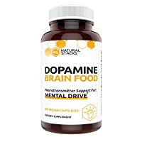 Natural Stacks Dopamine Supplement 60 ct - Boost Your Mental Drive - Formulated...