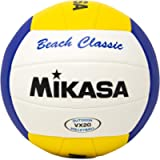 Mikasa VX20 Beach Classic Volleyball White