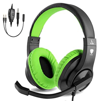 BlueFire Auriculares Gaming con Microfono para PS4 PC Xbox One ...