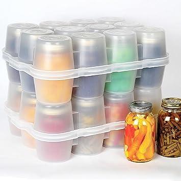 Superbe Amazon.com: Canning Jar Storage Boxes   Quart Size Quart Jar Box: Home U0026  Kitchen