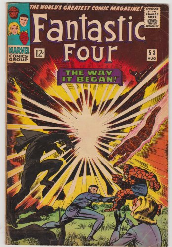 Fantastic Four #53 Silver Age Marvel Comic
