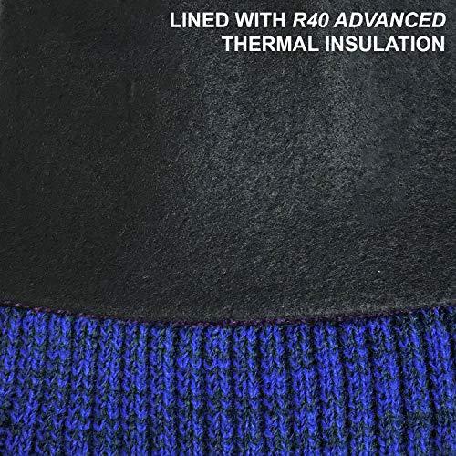 Marl Marl Bobble R40 RockJock Manteau Thermique Molleton avec Enjoliveur Doublure en Bleu BPxCq