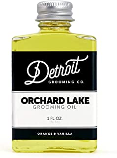 product image for Detroit Grooming Co. Beard Oil - Orchard Lake | Oil For All Beards | Helps Soften And Condition Dry And Itchy Beards