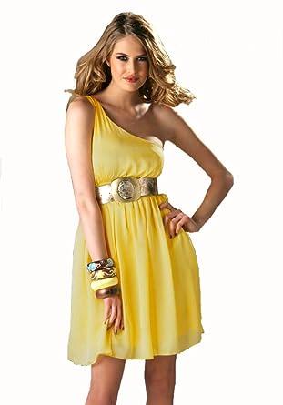 Lipsy kleid gelb