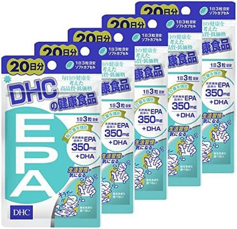DHC JAPAN [Set goods] DHC EPA 20 days 60 tablets 5 bags set