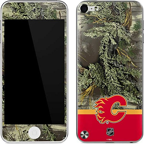 (NHL Calgary Flames iPod Touch (5th Gen&2012) Skin - Realtree Camo Calgary Flames Vinyl Decal Skin For Your iPod Touch (5th Gen&2012))