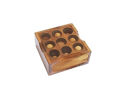 Amazoncom Cmstar Portable Wooden Golf Puzzle Home Kitchen