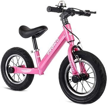 XIAOME Deporte Bicicleta Equilibrio Sin Pedal, con el Freno de ...