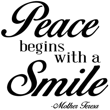 Amazon.com: Mother Teresa Quotes Wall Art Decals are a great way to on
