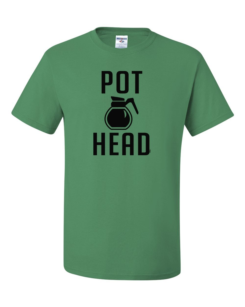 Pot Head Coffee Funny Humor Tee Graphic Unisex Tshirt