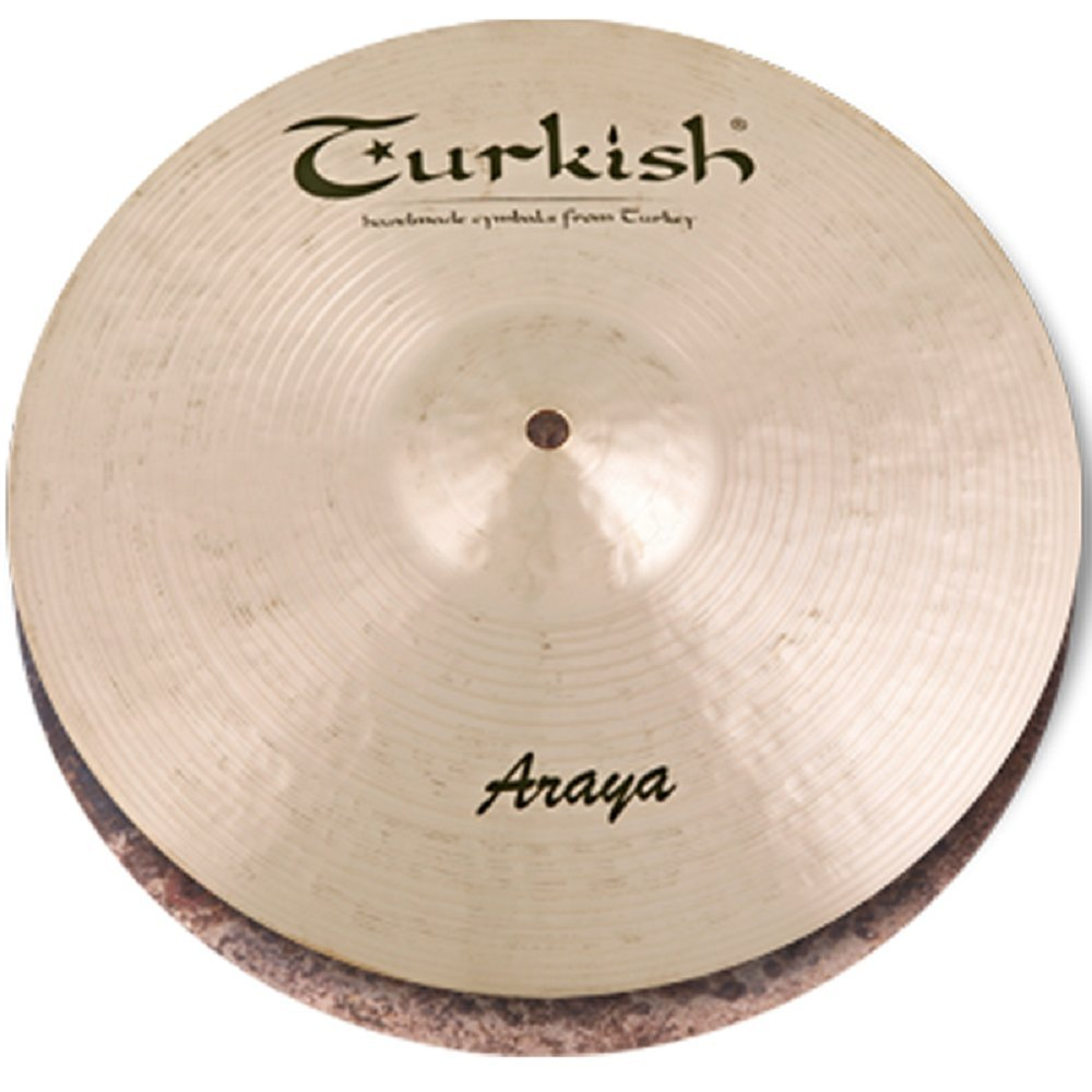 B073MQDCXV  Araya Custom Cymbals A-H13 13-inch Hi-Hat * Series  Turkish