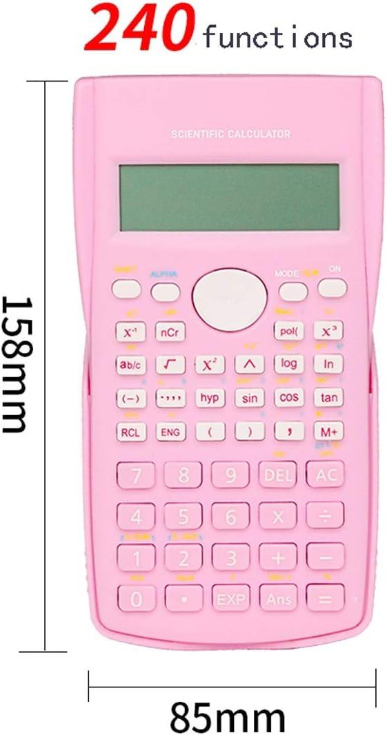Scientific Calculator /& Small Coloured Pocket Calculators for School Office Exam