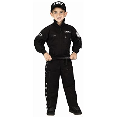 Tama-o Aeromax ASWAT-L Childs Jr. SWAT Traje grande: Amazon ...