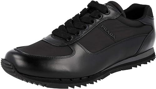 Prada Men's 4E2721 Leather Trainers