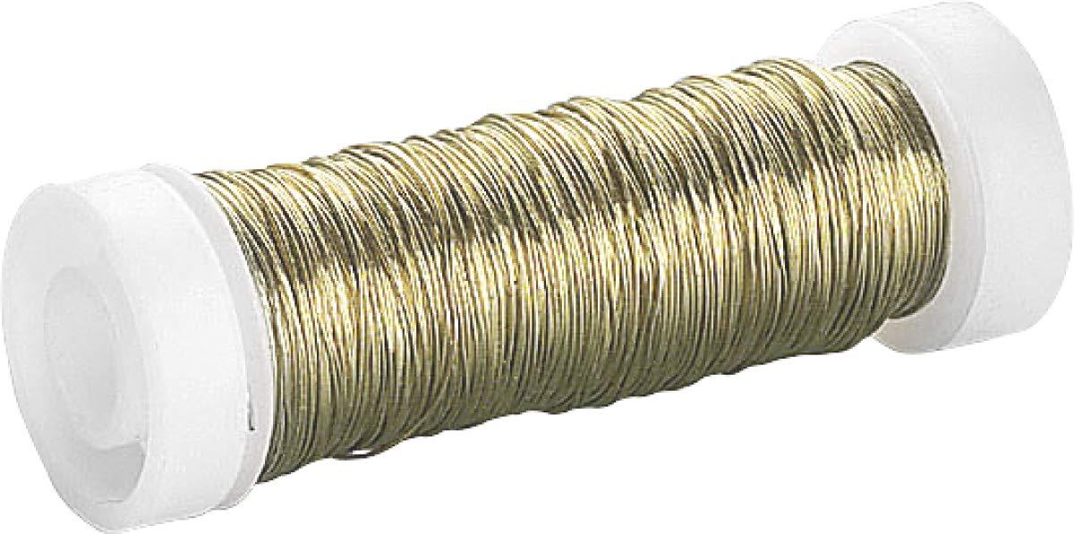 Knorr Prandell 216436692 Knorr prandell 216436692 Lackdraht /Ø 0,3 mm 50 m goldfarben vermessingt Goldfarben