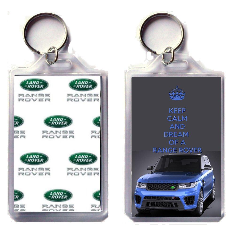 Llavero con diseño «Keep Calm And Dream Of A Range Rover ...