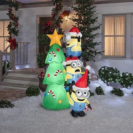 Amazon.com: Árbol de Navidad día festivo hinchables Yard ...