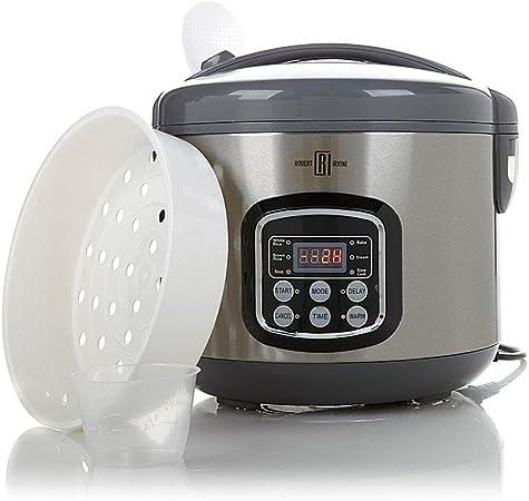 Robert Irvine 5 en 1 Digital programable 10 taza Robot de cocina (: Amazon.es: Hogar