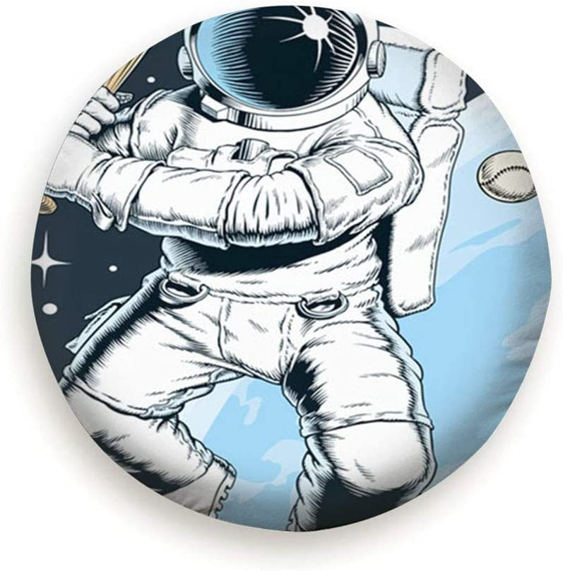 Rv 14,15,16,17 Inch X-Large Astronaut Playing Baseball Space People Sports Recreation Universal Spare Wheel Tire Cover Fit for Truck Camper Van,Jeep,Trailer SUV Trailer Accessories